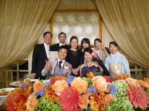 ハトムネ仲間の嬉しい結婚式