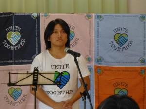8月27日仙台コボスタ則本デーにて、近藤洋平さんが国歌斉唱を!