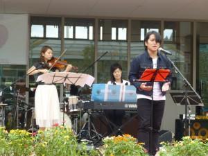シーパルピア女川でのコンサート