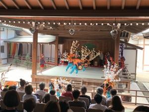 彦根城博物館能舞台にて、伝統文化を通じて彦根と石巻が交流出来ました